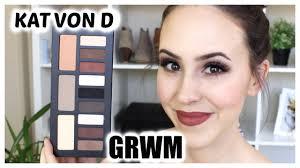 kat von d shade light eye contour palette grwm kat von d shade light eye contour palette makeup tutorial
