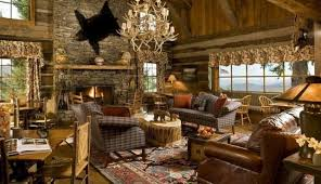 Log Home Interior Design Home Design Modern Log Cabin Interior Lighting Decorate Intended