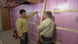 How To Frame A Wall by How To Frame Out Basement Walls This Old House Youtube