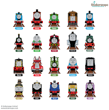 thomas u0026 friends collector u0027s edition wall stickers stickerscape uk