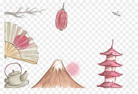 Japan Illustration  Japanese element png download  928637  Free