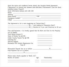 car rental agreement template examples of great resume design
