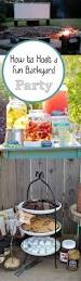 how to host a fun backyard party backyard summer and birthdays