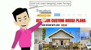 signature design plans signature custom design plans work flow youtube