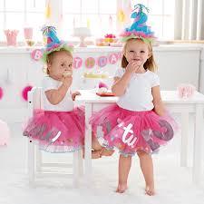 baby birthday mud pie baby girl s birthday tutu multi one size