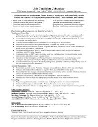 Sample Resume Objectives Human Resources by Database Administrator Resume Objective Resume For Your Job