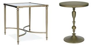 gold drum coffee table fascinating gold metal end table for house ideas monikakrl info