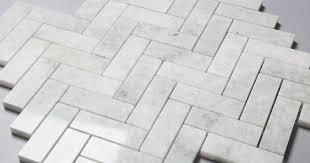 ming green herringbone marble mosaic tile collection centurymosaic