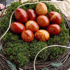 easter egg dye skin dyed easter eggs