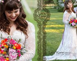 boho wedding dress plus size plus size wedding dress etsy