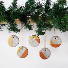 how to make christmas concrete ornaments hometalk
