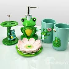 high quality fancy frog shape bathroom accessories beddinginncom