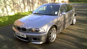 2005 bmw m3 coupe manual silver grey e46 www mercland com youtube