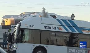 Meme Bus - bus blocking georgia dome implosion goes viral in sports world