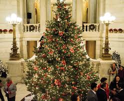 Rhode Island State House Christmas In The City The State House Tree Lighting And Holiday