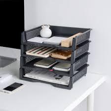 Paper Desk Organizer 3pcs Lot Moetron Office Paper Tray Document Storage Box Plastic