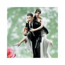 sujet mariage figurine de mariage fan de rugby un jour spécial