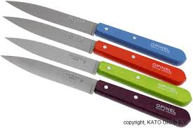 opinel kitchen knives uk set of 4 opinel paring knives n 112 pop knivesandtools co uk