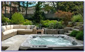 decks with tubs built in decks home decorating ideas