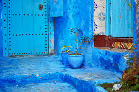 Morocco Blue City by The Tile Art Spell Of Morocco U0027s Blue City Mozaico Blog