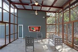 Sunroom Austin Sunroom Accessories Timber Striped Unique Staircase Design With