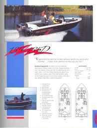 83 Gallon Deck Box by 1991 Skeeter Boats Brochure