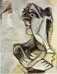 woman with braid 1971 pablo picasso wikiart org