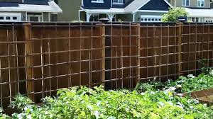 building a garden trellis 45 foot long part 2 youtube