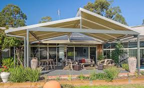 Aussie Patios Skillion Roof Carport Spanline Skillion Roofing Patio Carport