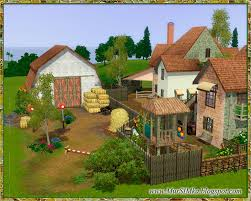 big farm house sims 3 updates mursimka the big farm by mursilka