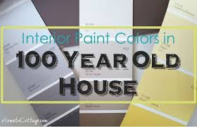 paint colors for our 100 year old house