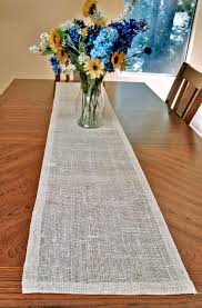 table runner white jute table runner 14x72in