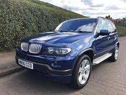 Bmw X5 Blue - bmw x5 exclusive blue performance diesel automatic low mileage