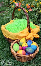 easter basket grass eco friendly easter basket tips and ideas rhythms of play