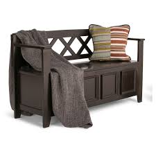 Linon Home Decor Products Inc Linon Home Decor Vanity Set With Butterfly Bench Black Wood