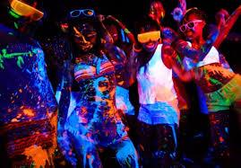 glow party playa yacht glow party