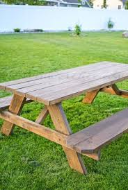 Make Your Own Picnic Table Bench by Kids Picnic Table My Hubby U0027s Next Project I Love That He Can