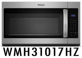 kitchenaid microwave hood fan whirlpool 1 7 cu ft microwave hood combination with electronic