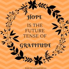 on and gratitude a thanksgiving meditation braden bell