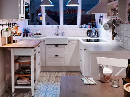 ikea small kitchen ideas glamorous ikea small kitchen design with white wall decor and