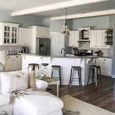 paint ideas for living room and kitchen kitchen open living room best sea salt paint ideas on