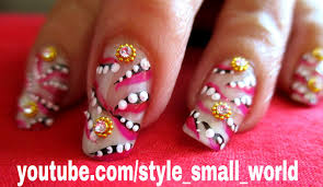 how to use nail art design strips to nails art