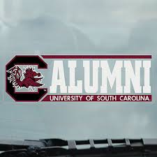 of south carolina alumni sticker of south carolina alumni gamecocks cling decal