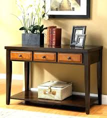 Black Console Table With Storage Tv Stand Terrific Console Table Tv Stand For Home Space Wood
