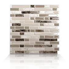 Tile Ideas For Kitchen Backsplash by Smoke Glass Subway Tile White Shaker Cabinets Shaker Cabinets