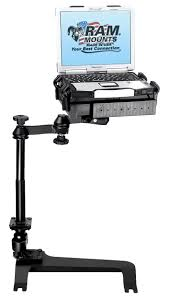 Desk Mounted Laptop Stand by Vehicle Laptop Desks From Ram Mount