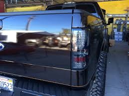 custom truck tail lights ford truck with custom headlights and taillights joe s stereo