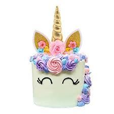unicorn cake topper unicorn cake topper handmade unicorn horn ears and
