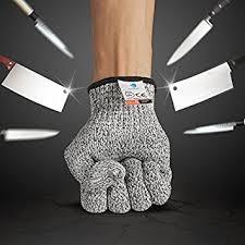 gant de protection cuisine anti coupure bellestyle gants anti coupure niveau de 5 protection pour aliment