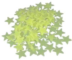 Stars On Ceiling by Plastic Luminous Stars For Ceiling Walldecor Glow In The Dark Kids